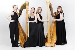 Koncert pro 4 harfy - Náhled